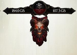 Тема Diablo для XWidget